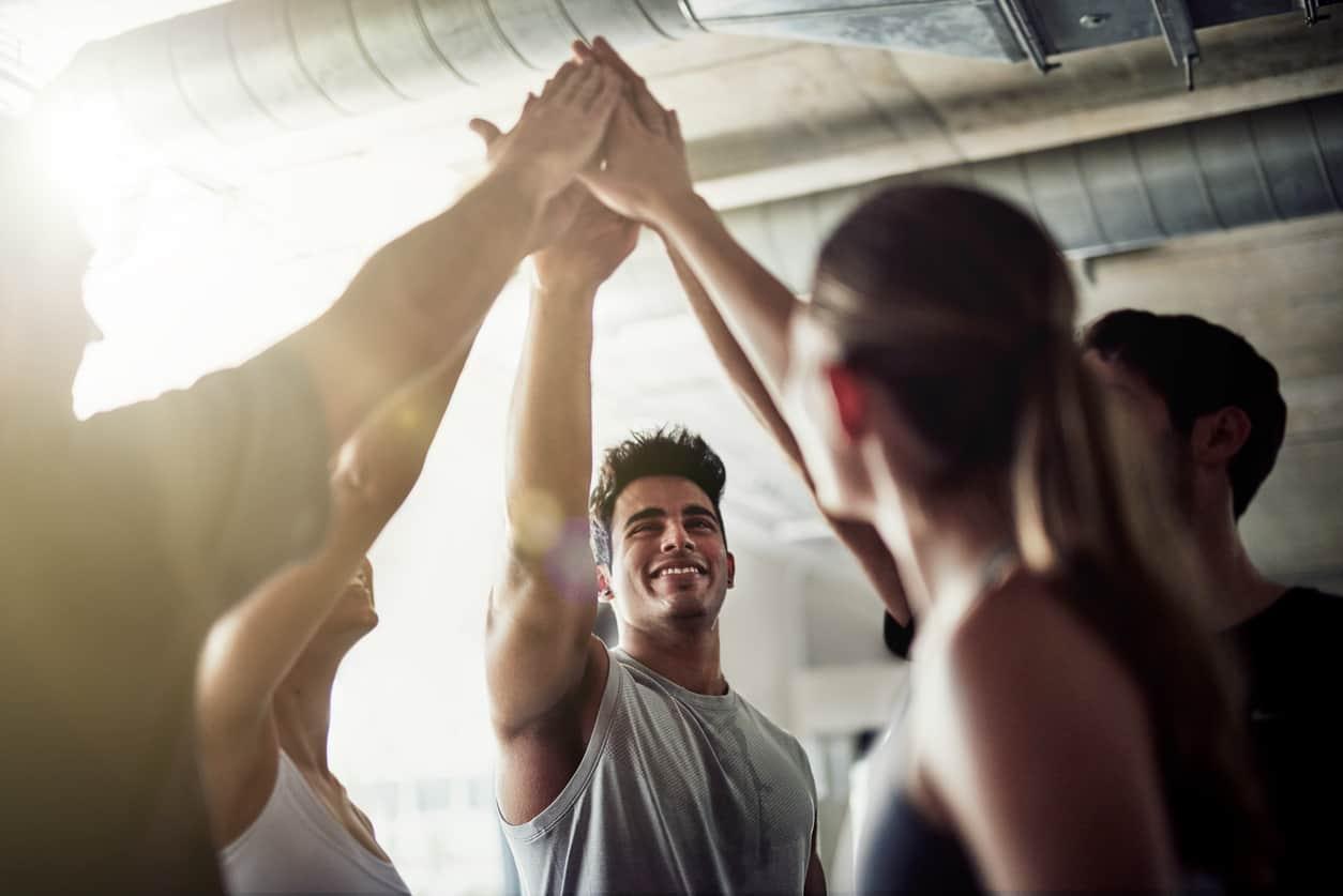 team-building-high-five